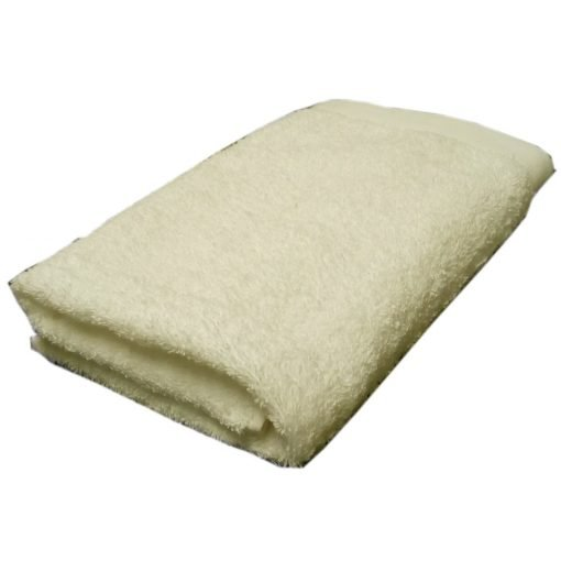 Asciugamano viso cm 60x100 600 gr/mq avorio